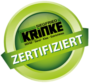 Kieswerke Krinke - Zertifikat