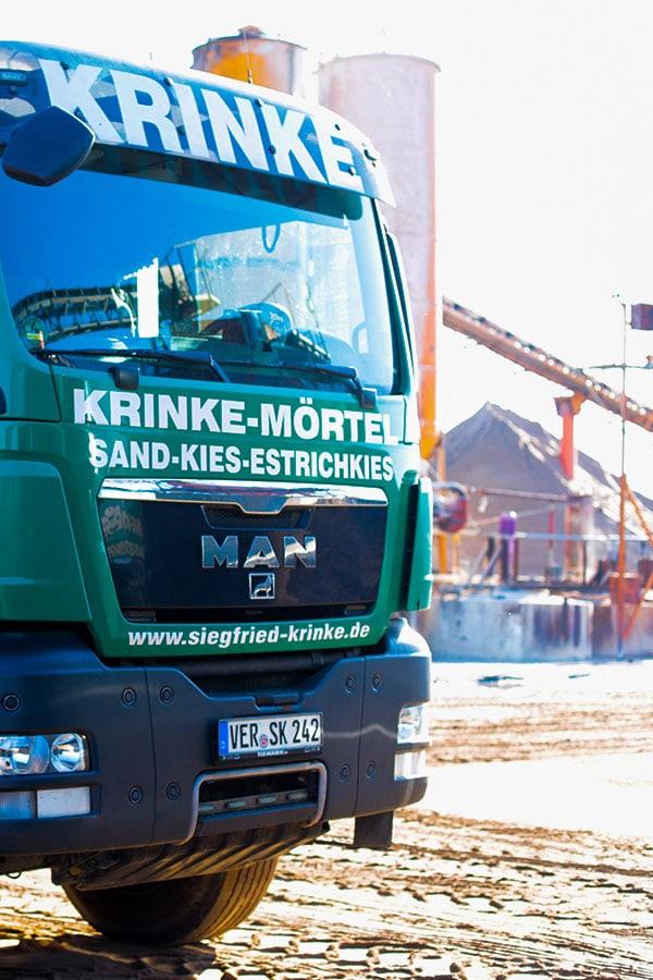 Kieswerke Krinke - Karriere